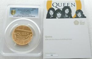 Click now to see the BUY IT NOW Price! 2020 MUSIC LEGENDS QUEEN 500 GOLD PROOF 5OZ COIN PCGS PR70 FIRST STRIKE CERT 05