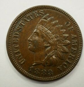 1883 INDIAN HEAD PENNY 1C 40
