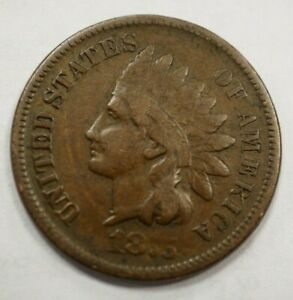 1875 INDIAN HEAD ONE CENT 1C 188