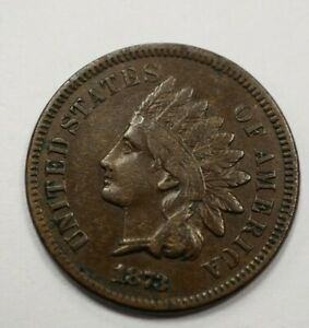 1873 INDIAN CENT OPEN