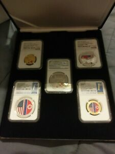 Click now to see the BUY IT NOW Price! TRUMP & KIM  SINGAPORE SUMMIT SET NGC PF70 UCAM MAGA