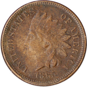 1865 1C INDIAN HEAD CENT PENNY