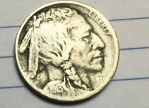 1913 P  BUFFALO NICKEL WITH FULL READABLE DATE