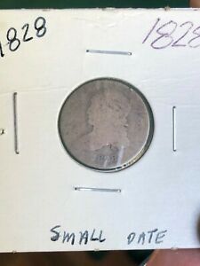 1828 CAPPED BUST 10C  SMALL DATE