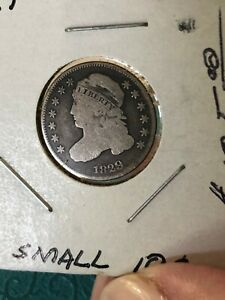 1829 CAPPED BUST 10C  SMALL 10C VARIETY  NICE COIN