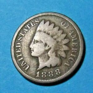 1888 USA INDIAN HEAD PENNY   CIRCULATED