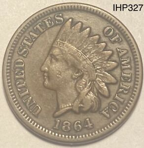 1864 INDIAN HEAD PENNY CENT