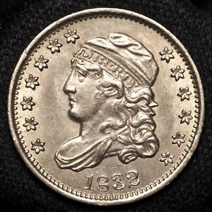 1832 CAPPED BUST HALF DIME    UNCIRCULATED