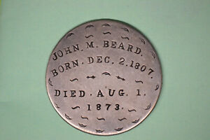1807 DRAPED BUST HALF DOLLAR  JOHN M. BEARD  BORN/DIED. AMAZING PIECE OF HISTORY