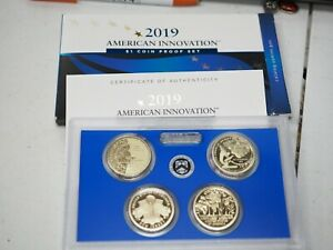 2019 S AMERICAN INNOVATION DOLLAR PROOF SET