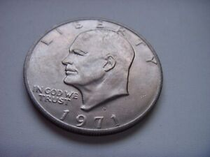 1971 USA UNITED STATES DOLLAR COIN CIRCULATED FREE DOMESTIC SHIPPING
