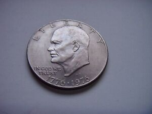 1976 USA UNITED STATES DOLLAR COIN CIRCULATED FREE DOMESTIC SHIPPING