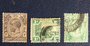 STRAITS SETTLEMENTS  STAMP  1895   LOT