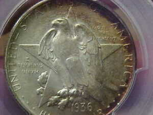 1936 S TEXAS COMMEMORATIVE HALF DOLLAR PCGS MS66 CAC COLORFUL TONE  IN CAC
