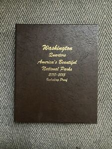 AMERICAS BEAUTIFUL NATIONAL PARKS WASHINGTON QUARTERS 2010 2015 INCLUDING PROOF