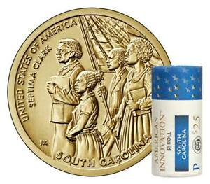 2020 P AMERICAN INNOVATION $1 DOLLAR COIN ROLL MINT UNCIRCULATED SOUTH CAROLINA
