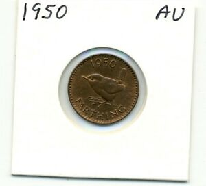 GREAT BRITAIN. FARTHING. 1950 ABOUT UNCIRCULATED