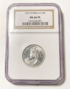 Click now to see the BUY IT NOW Price! CLASSIC COMMEMORATIVE WORLD'S COLUMBIAN EXPOSITION ISABELLA QUARTER 1893 P NGC