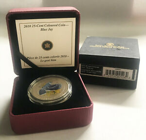 Click now to see the BUY IT NOW Price! 2010 25 CENTS BIRDS OF CANADA SERIES: BLUE JAY 109964