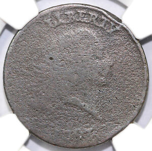 1793 1C FLOWING HAIR CHAIN CENT