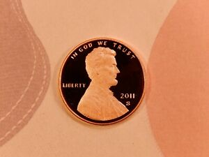 2011 S LINCOLN SHIELD  CENT   PROOF