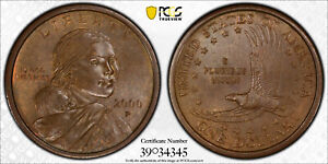 Click now to see the BUY IT NOW Price! 2000 P EXPERIMENTAL RINSE SACAGAWEA DOLLAR ERROR   GRADED PCGS MS 64   SAC $1