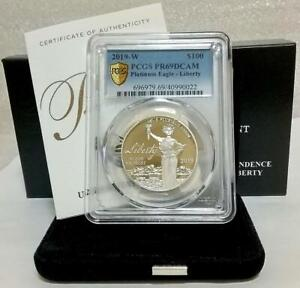 Click now to see the BUY IT NOW Price! 2019 U.S DECLARATION OF INDEPENDENCE PLATINUM 1 OZ PCGS PR69 DCAM [BRAND NEW]