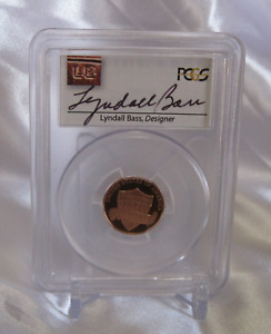 2015 LYNDALL BASS SIGNED PCGS GRADED & CERTIFIED PF69 DCAM DESIGNER AUTOGRAPHED