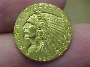 SHARP BU 1926 $2 1/2 DOLLAR GOLD QUARTER EAGLE COIN FULL HAIR FEATHERS LUSTEROUS