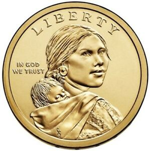 2017 D SACAGAWEA NATIVE AMERICAN DOLLAR US MINT COIN BU