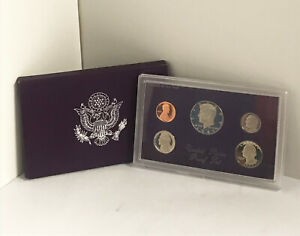 1987 S UNITED STATES MINT 5 COIN PROOF SET