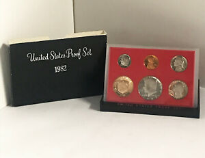 1982 S UNITED STATES MINT 6 COIN PROOF SET