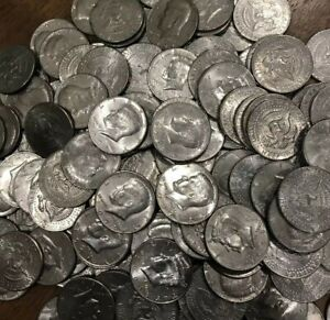 KENNEDY HALF DOLLAR COIN 1971 1979 1980 1989 1990 2018 P D OLD US MINT 50 LOT
