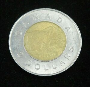 1996 CANADA 2 DOLLAR TOONIE COIN 1ST YEAR OF ISSUE LOT1347