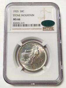 Click now to see the BUY IT NOW Price! CLASSIC COMMEMORATIVE STONE MOUNTAIN MEMORIAL 1925 P NGC MS 66  CAC STONE MOUNTA