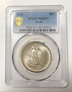 Click now to see the BUY IT NOW Price! CLASSIC COMMEMORATIVE TEXAS INDEPENDENCE CENTENNIAL 1935 P PCGS MS 67    TEXAS