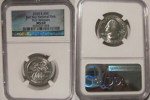 Click now to see the BUY IT NOW Price! 2020 S SALT RIVER BAY NP QUARTER 25C NGC MS 69 FIRST RELEASES
