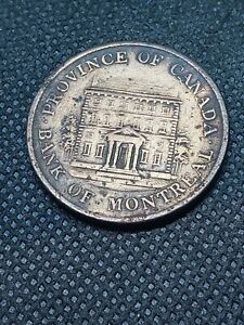 1844 CANADA BANK TOKEN SEE PICTURES L137