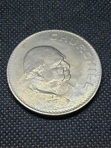 GREAT BRITAIN 1965 CHURCHILL COIN SEE PICTURES  L1052