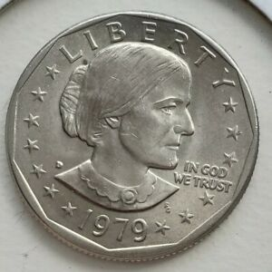 1979 US SUSAN B ANTHONY ONE DOLLAR COIN UNC