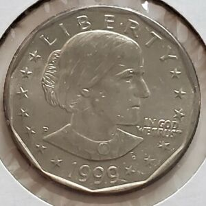 1999 US SUSAN B ANTHONY ONE DOLLAR COIN UNC