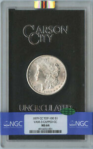 Click now to see the BUY IT NOW Price! 1879 CC TOP 100 MORGAN DOLLAR S$1 NGC MS64  CAC  VAM 3 CAPPED CC