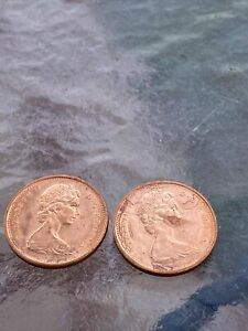 1965  2 CANADA  CANADIAN SMALL  CENTS  ONE CENT  PENNY COIN  EXCELLENT CONDITION