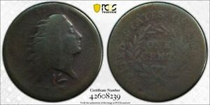 1793 WREATH LARGE CENT   PCGS  FR02 S 11A    FULL DATE   KEY TYPE COIN