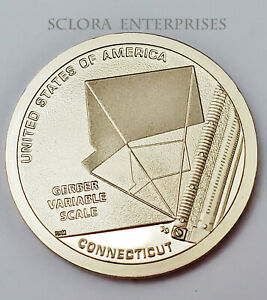 2020 S GERBER VARIABLE SCALE AMERICAN INNOVATION  PROOF  DOLLAR