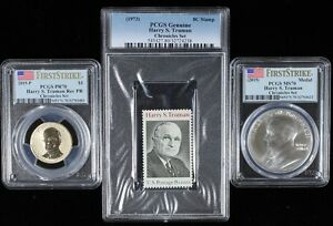 Click now to see the BUY IT NOW Price! 2015 HARRY S TRUMAN COIN AND CHRONICLES DOLLAR PCGS REVERSE PR70AND MS70 FS