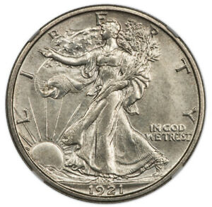 Click now to see the BUY IT NOW Price! 1921 S WALKING LIBERTY HALF DOLLAR 50C NGC MS65