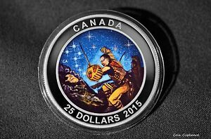 Click now to see the BUY IT NOW Price! 2015 $25 CANADA   WOUNDED BEAR   1 OZ. .9999 SILVER GLOW IN THE DARK PROOF COIN