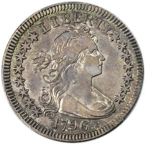 Click now to see the BUY IT NOW Price! 1796 25C DRAPED BUST QUARTER PCGS XF40