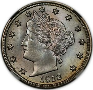 Click now to see the BUY IT NOW Price! 1912 S LIBERTY NICKEL 5C NGC MS66